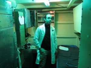 Doc in sick bay, before we invaded it with warm and fuzzy feelings (Larson Kasper)
